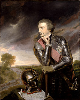 Lord Jeffrey Amherst, by Joshua Reynolds