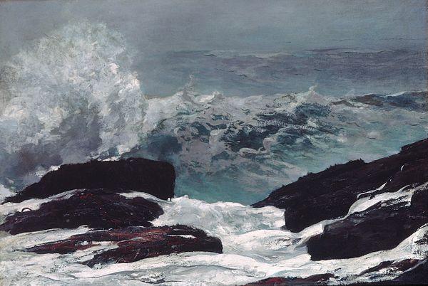 """The Maine Coast,'' by Winslow Homer"