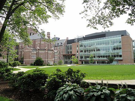 Science center at Emmanuel College.