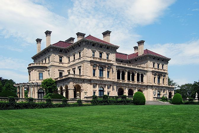 """""""The Breakers,'' Newport's most famous mansion: Big, but not big enough for a national convention."""