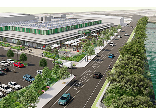 Artist's rendition of Farm Fresh Rhode Island's coming food-distribution center in Providence.