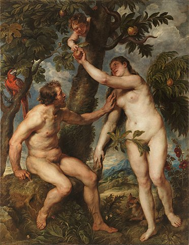 The three Abrahamic religions have presented Adam and Eve as the first heterosexual couple.