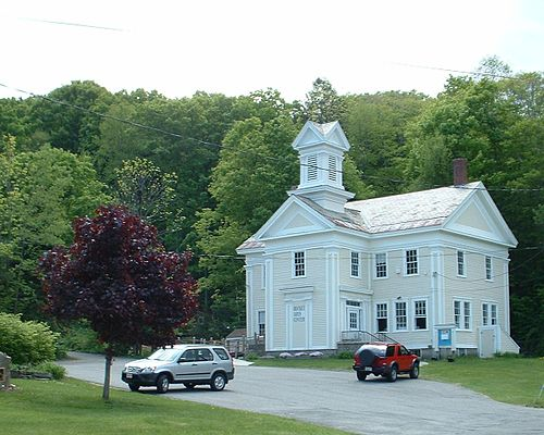 """The arts center in Becket, Mass., one of the """"Hilltowns''"""