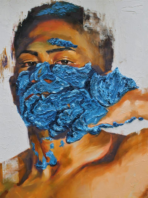 Work by Bhen Alan in the Providence Art Club's National Open Juried Exhibition through July 19.