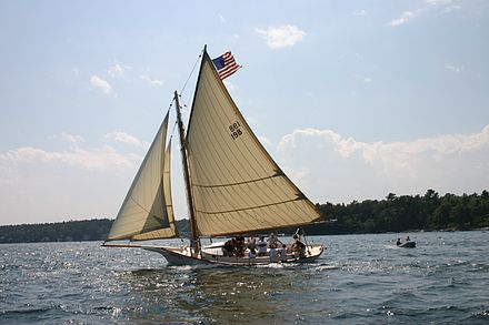 Friendship sloop (named for the Maine where they originated