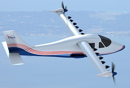 NASA    developed the    X-57 Maxwell    electric plane from a    Tecnam P2006T   .