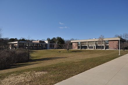 On the campus of Northern Essex (County) Community College, in Haverhill