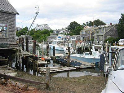 Menemsha Harbor.