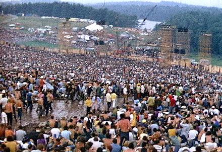Fun in the mud in Woodstock