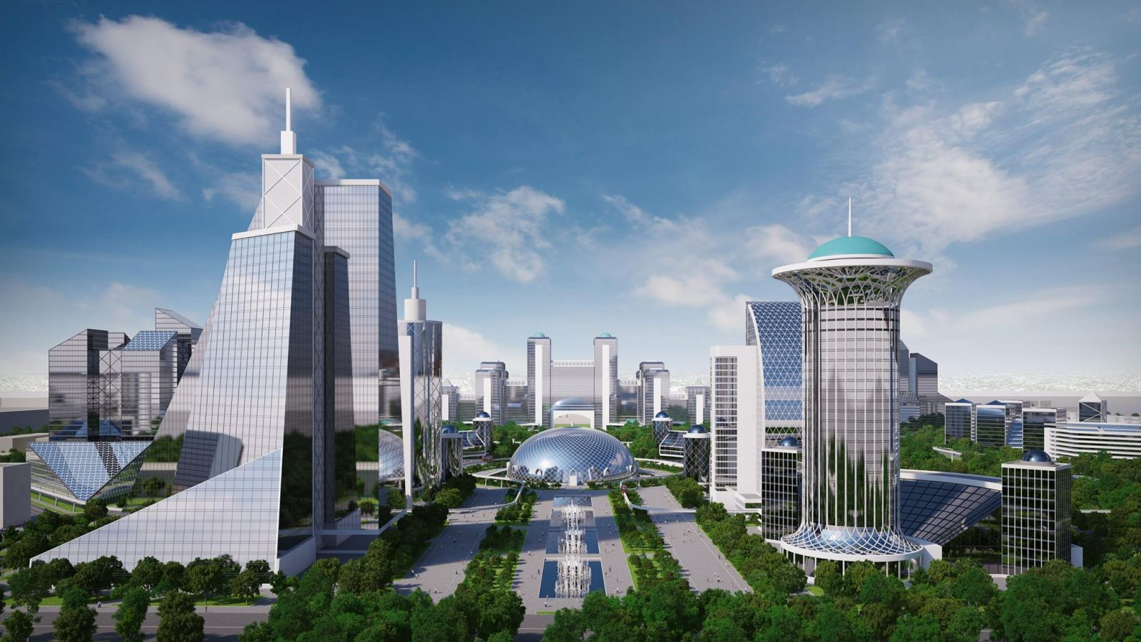 Design for Tashkent City