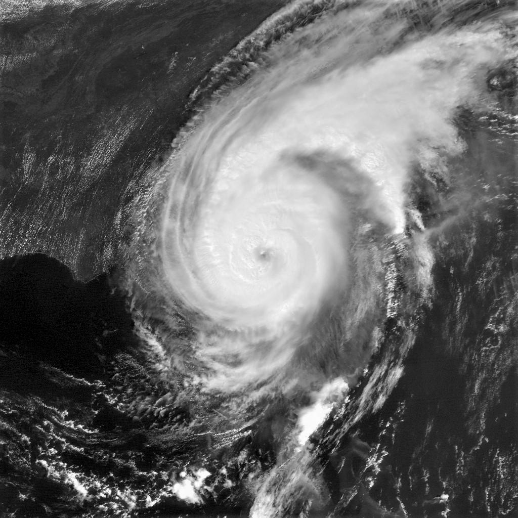Hurricane Dorian off George on Sept. 4