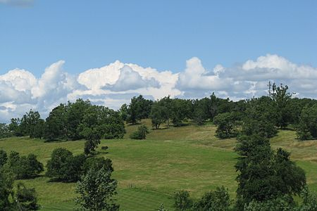 Gibbet Hill, in some of Groton's beautiful countryside. The area is well known for its apples.