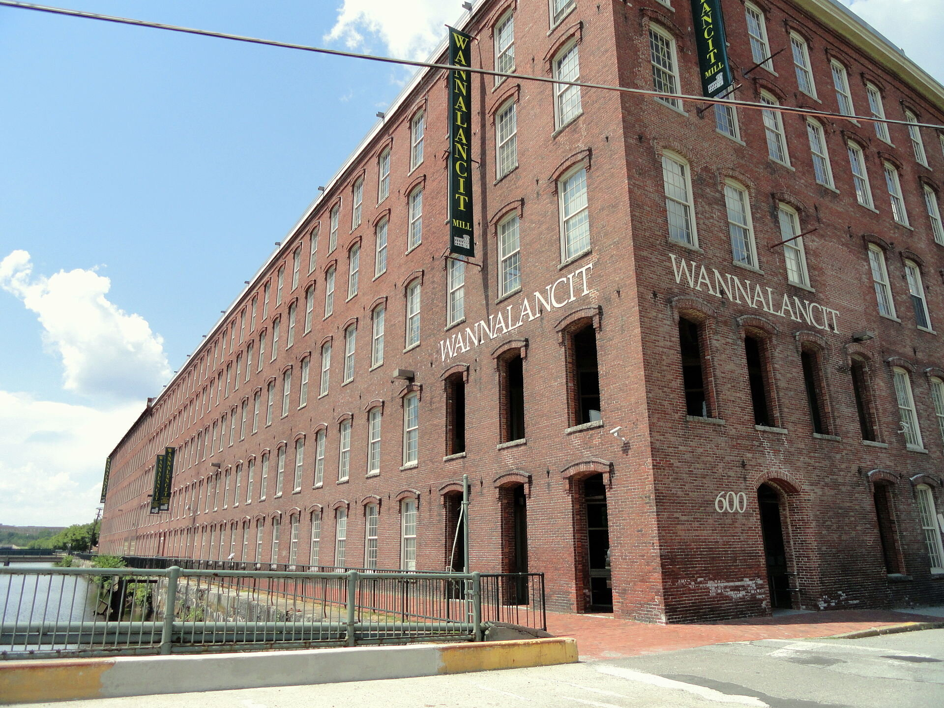 A 19th Century textile mill transformed into a UMass Lowell facility