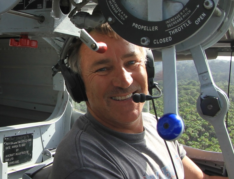About the Owner   Mike Castillo has extensive experience in small and large seaplanes, both vintage and newer. He was the lead mechanic and pilot of a Grumman Albatross, for the surf company, Billabong. In 2010, he was the lead engineer and pilot of another vintage Albatross for the Sylvester Stallone film, The Expendables.  He restored and piloted a 1944 PBY 5A from South Africa to San Diego in 2012, which he flew during the annual Oshkosh event the following year.  He holds the following ratings: ATP, AMES, Mechanic, A&P-IA. He specializes in vintage, amphibious aircraft recovery, repair, and restoration.