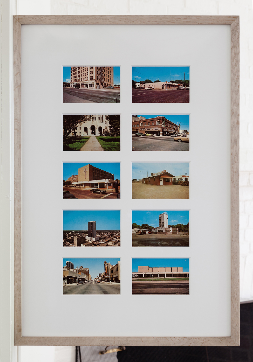 Stephen Shore   Amarillo ‐Tall in Texas   1971  Postcards  3 1/2 x 5 1/2 inches each