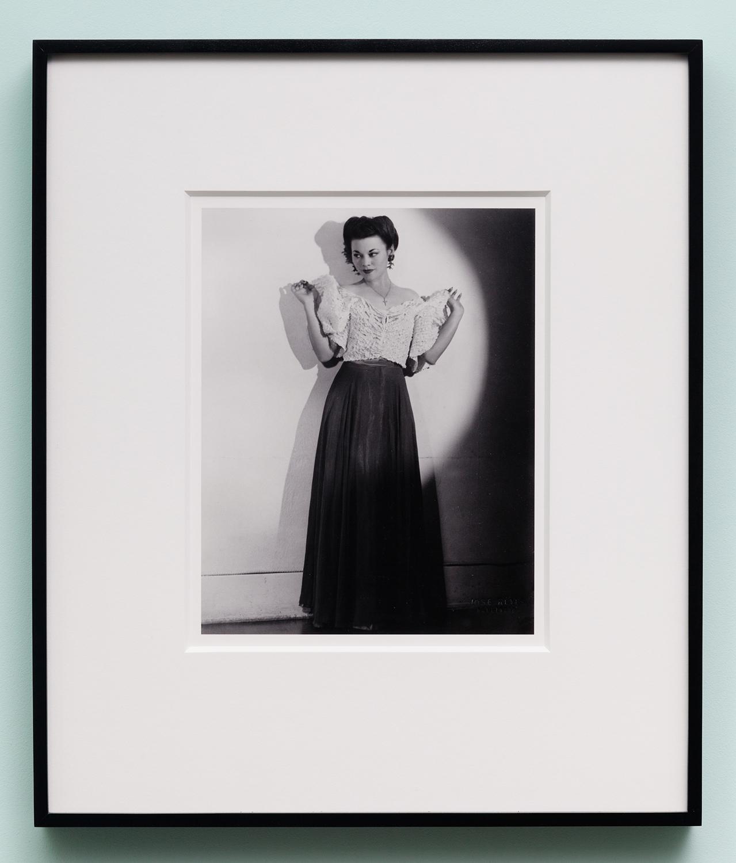 Miljohn Ruperto   Studio Portrait by Jose Reyes,Hollywood,CA 1940 (full,formal)   2010  Photograph  10 x 8 inches