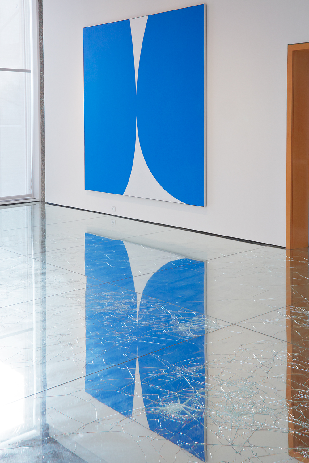 On the Matter of Abstraction (figs. A & B): Parallel Exhibitions of Post-War Non-Figurative Art from the Collection , Rose Art Museum, Brandeis University, Waltham, MA, 2013—in collaboration with Rose Art Museum Director Christopher Bedford. Rose Art Museum Permanent Collection.    Ellsworth Kelly