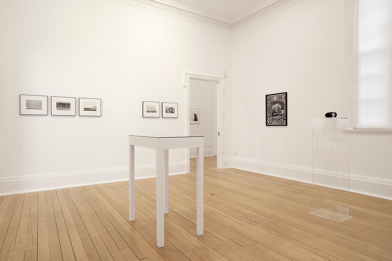 Sunless , Thomas Dane Gallery, London, United Kingdom, 2010.    Lewis Baltz, Stephen Shore, Bruce Conner, and Helen Pashgian