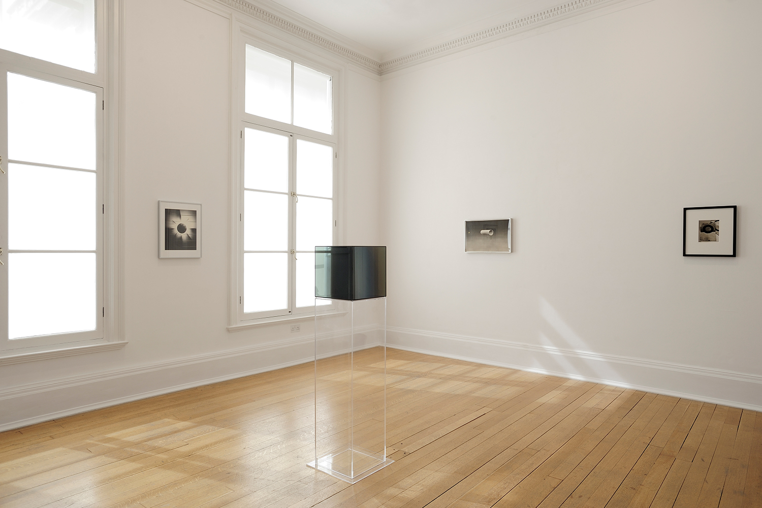 Sunless , Thomas Dane Gallery, London, United Kingdom, 2010.    James Welling,Ed Ruscha, Larry Bell, and Jay DeFeo
