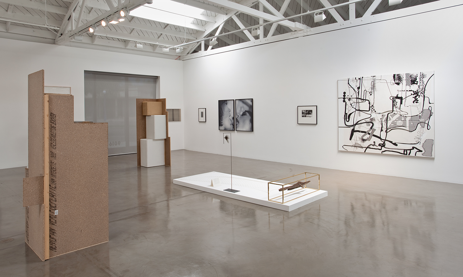 Picture Industry (Goodbye to All That) , Regen Projects, Los Angeles, CA, 2010.    Manfred Pernice, Thomas Barrow, Cosey Fanni Tutti,Carol Bove, and Albert Oehlen