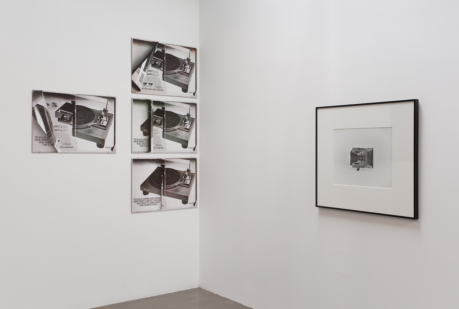 Picture Industry (Goodbye to All That) , Regen Projects, Los Angeles, CA, 2010.    Kelley Walker and Christopher Williams