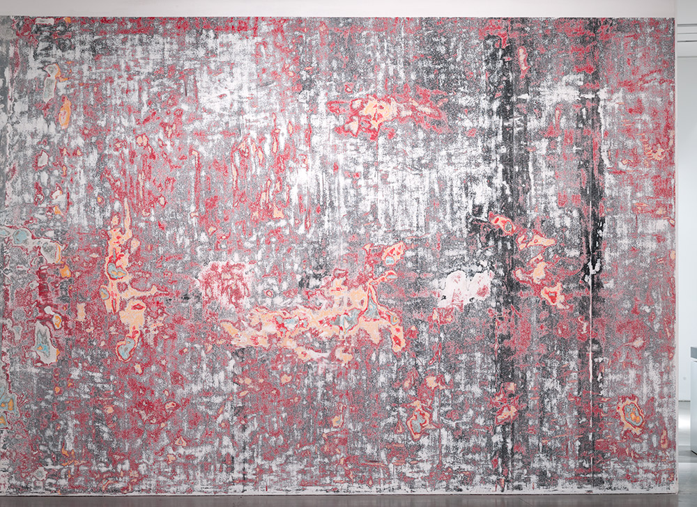 Mural (Bass Museum of Art, Miami, Florida: 2001–2012)    2012   Sanded wall  Dimensions variable