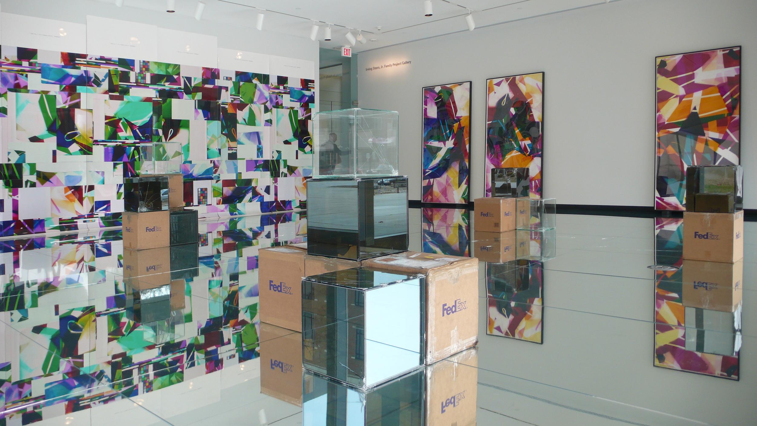 Pulleys, Cogwheels, Mirrors, and Windows   University of Michigan Museum of Art  Ann Arbor  Michigan  2009