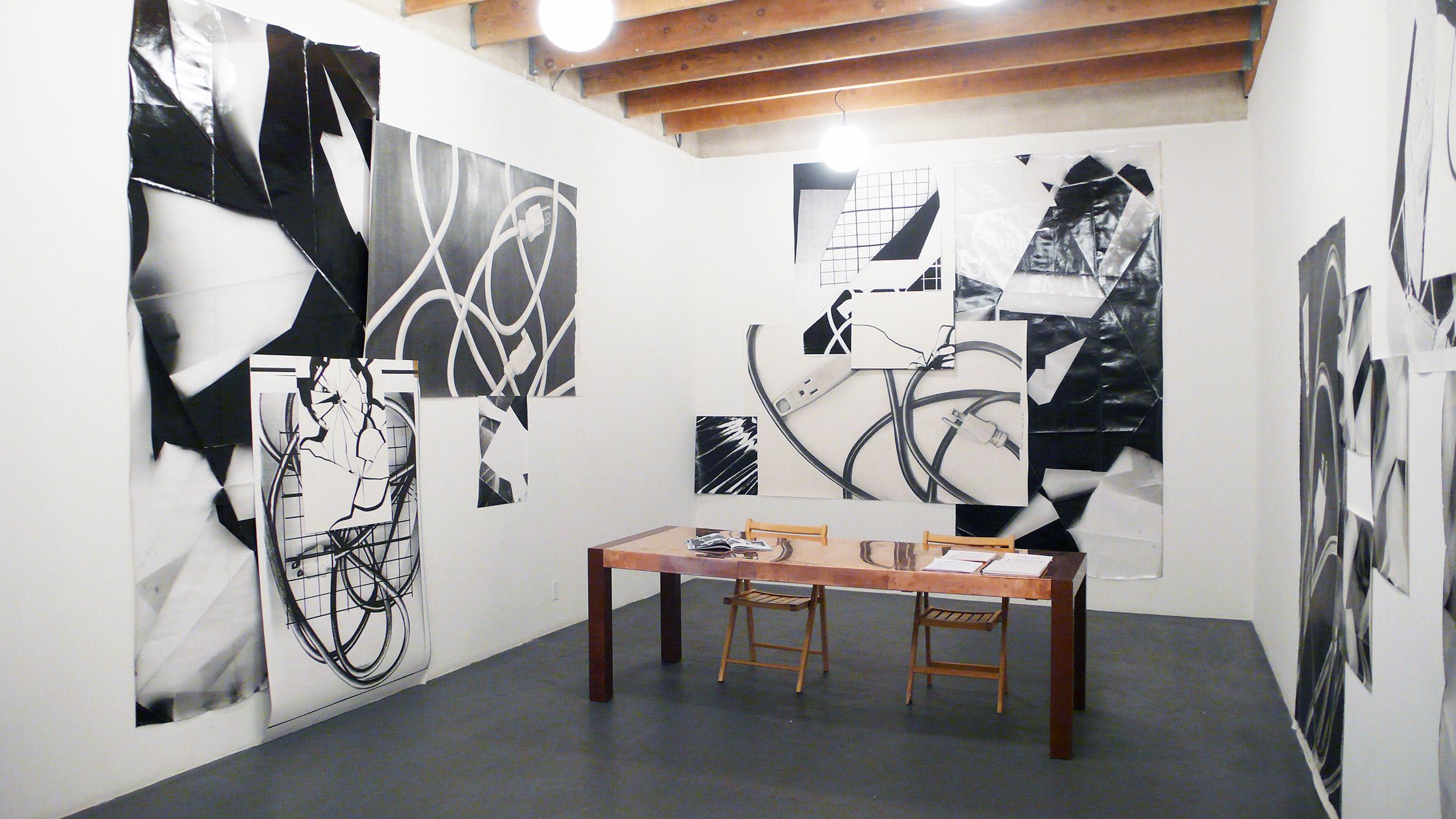 Plug n Play   With Karl Haendel  Redling Fine Art  Los Angeles  California  2009