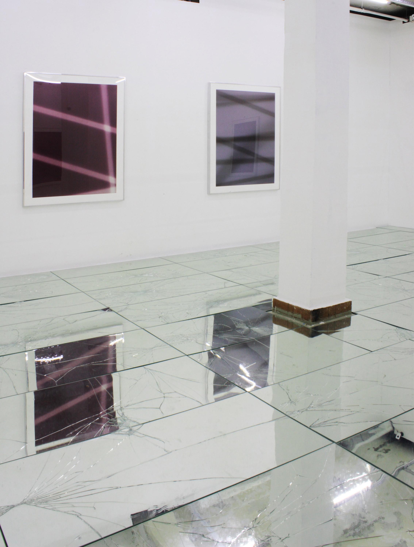 FIVE   Walead Beshty, Matthew Brannon, Wade Guyton, Sterling Ruby, and Kelley Walker  Baibakov Projects  Moscow  Russia  2009