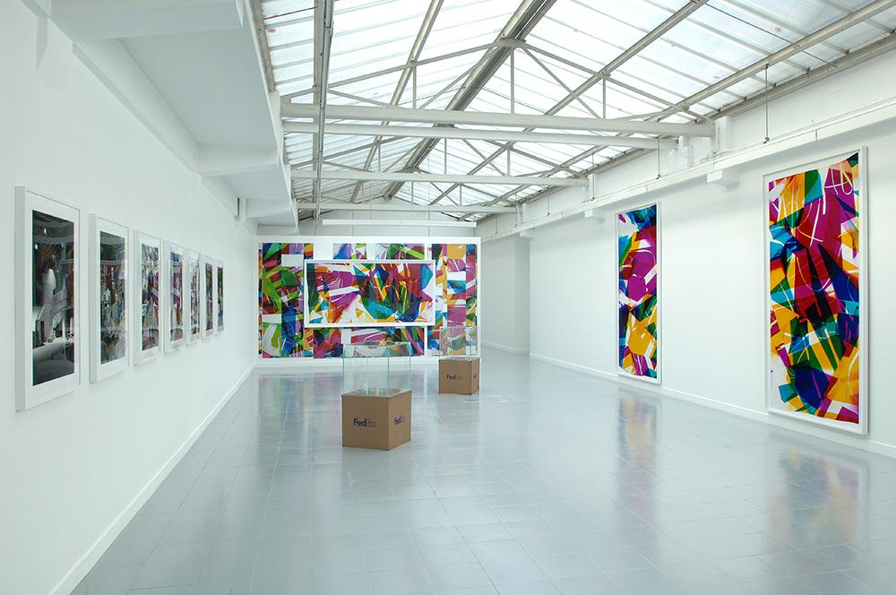 Industrial Pictures   Galerie Rodolphe Janssen  Brussels  Belgium  2008