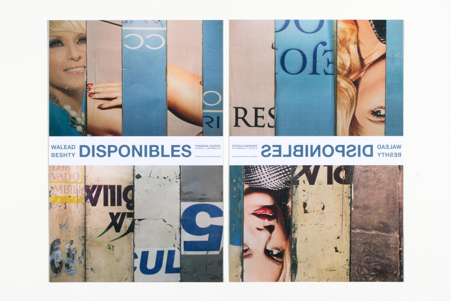 Disponibles poster   Travesía Cuatro  Guadalajara  Mexico  2015