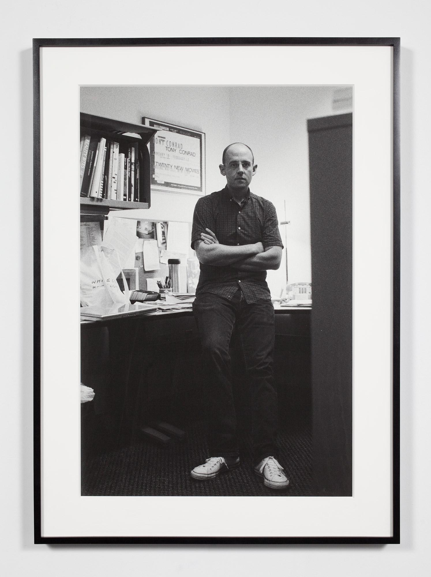 Associate Curator, University Museum (JP), Ann Arbor, Michigan, September 19, 2008    2009   Epson Ultrachrome K3 archival ink jet print on Hahnemühle Photo Rag paper  36 3/8 x 26 3/8 inches   Industrial Portraits, 2008–