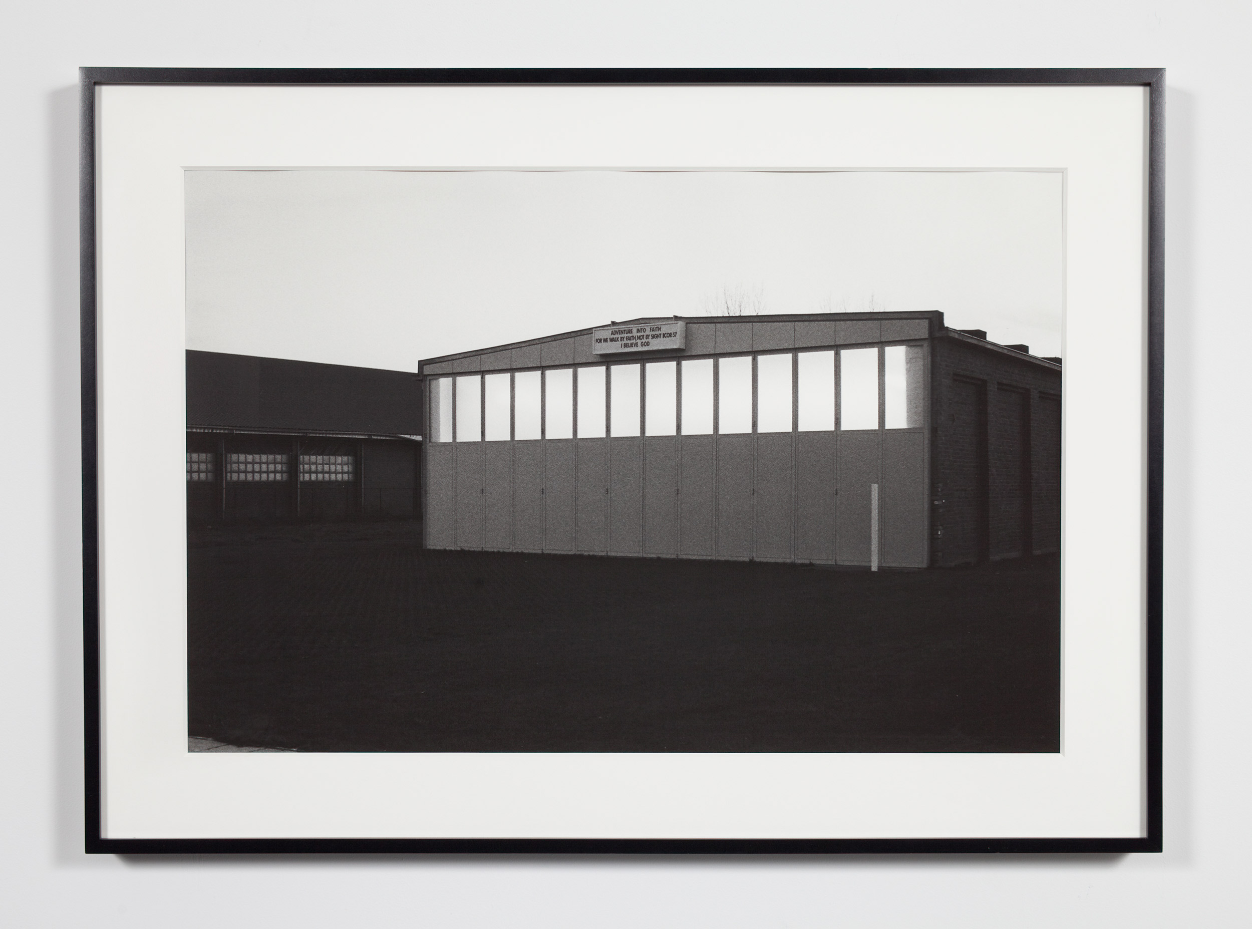 Private Collection Gallery (Vanmoerkerke), Ostende, Belgium, November 9, 2008    2009   Epson Ultrachrome K3 archival ink jet print on Hahnemühle Photo Rag paper  36 3/8 x 26 3/8 inches   Industrial Portraits, 2008–