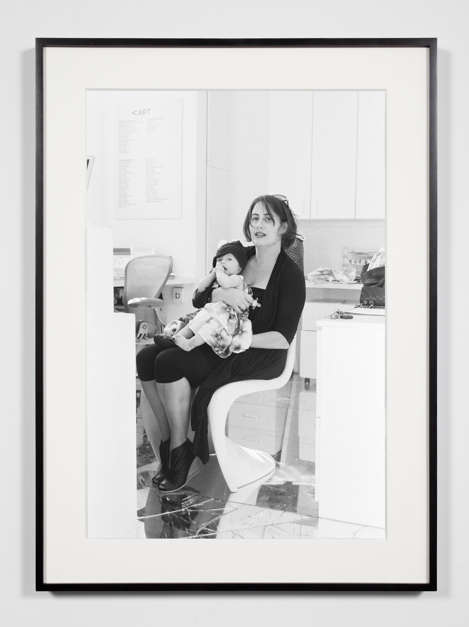 Nonprofit Director/Curator with Daughter, Los Angeles, California, March 17, 2009    2011   Epson Ultrachrome K3 archival ink jet print on Hahnemühle Photo Rag paper  36 3/8 x 26 3/8 inches   Industrial Portraits, 2008–