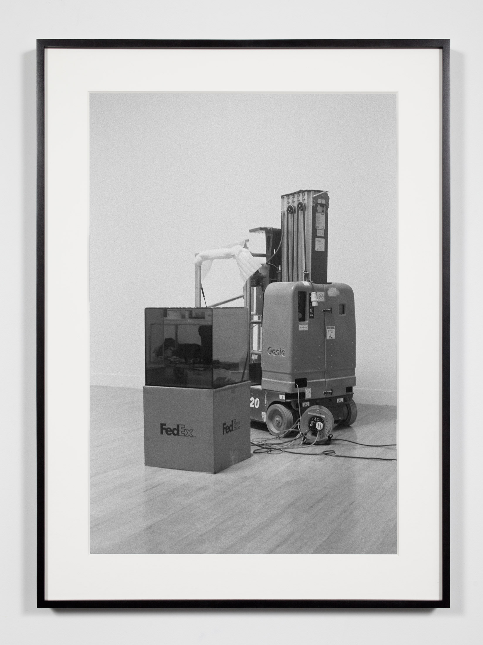Installation View, London, United Kingdom, January 30, 2009    2011   Epson Ultrachrome K3 archival ink jet print on Hahnemühle Photo Rag paper  36 3/8 x 26 3/8 inches   Industrial Portraits, 2008–