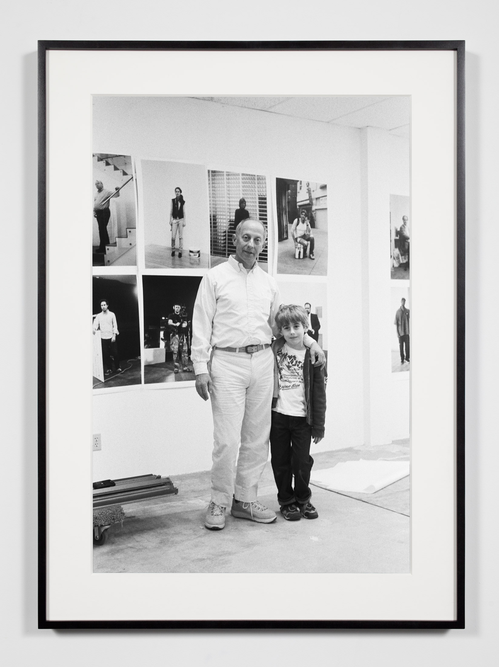 Publisher with Son, Los Angeles, California, April 3, 2009    2011   Epson Ultrachrome K3 archival ink jet print on Hahnemühle Photo Rag paper  36 3/8 x 26 3/8 inches   Industrial Portraits, 2008–