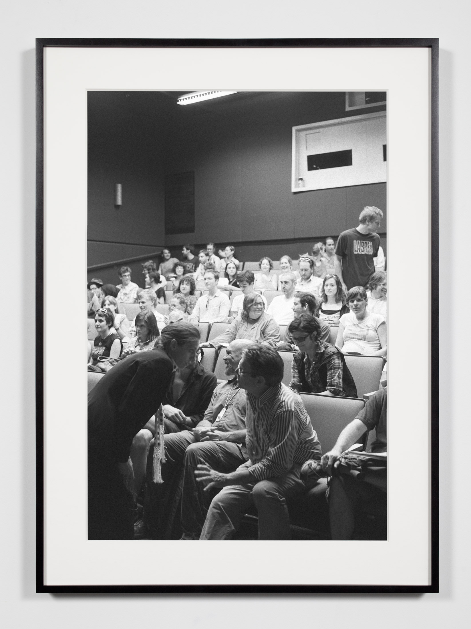 College Lecture Hall, Annandale-on-Hudson, New York, July 11, 2009    2011   Epson Ultrachrome K3 archival ink jet print on Hahnemühle Photo Rag paper  36 3/8 x 26 3/8 inches   Industrial Portraits, 2008–