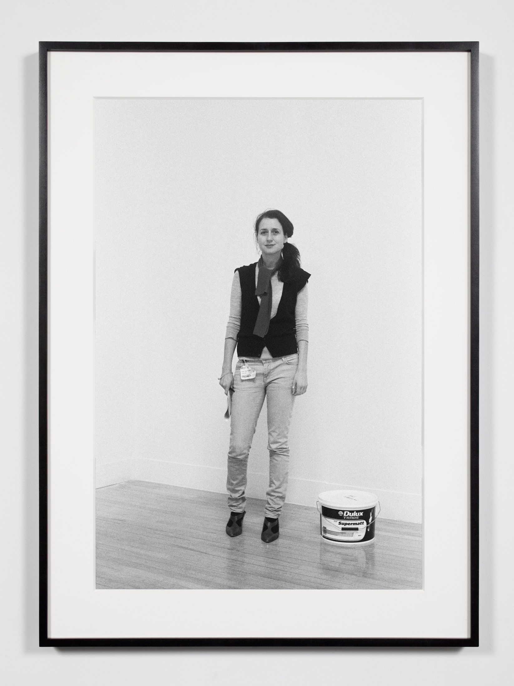 Museum Curator, London, United Kingdom, January 30, 2009    2011   Epson Ultrachrome K3 archival ink jet print on Hahnemühle Photo Rag paper  36 3/8 x 26 3/8 inches   Industrial Portraits, 2008–