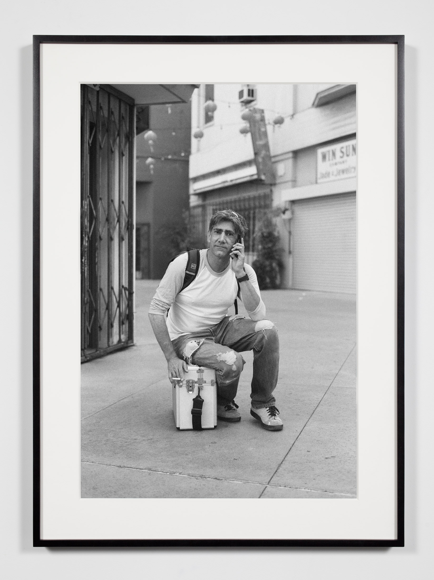 Gallery Preparator, Los Angeles, California, July 26, 2008    2011   Epson Ultrachrome K3 archival ink jet print on Hahnemühle Photo Rag paper  36 3/8 x 26 3/8 inches   Industrial Portraits, 2008–
