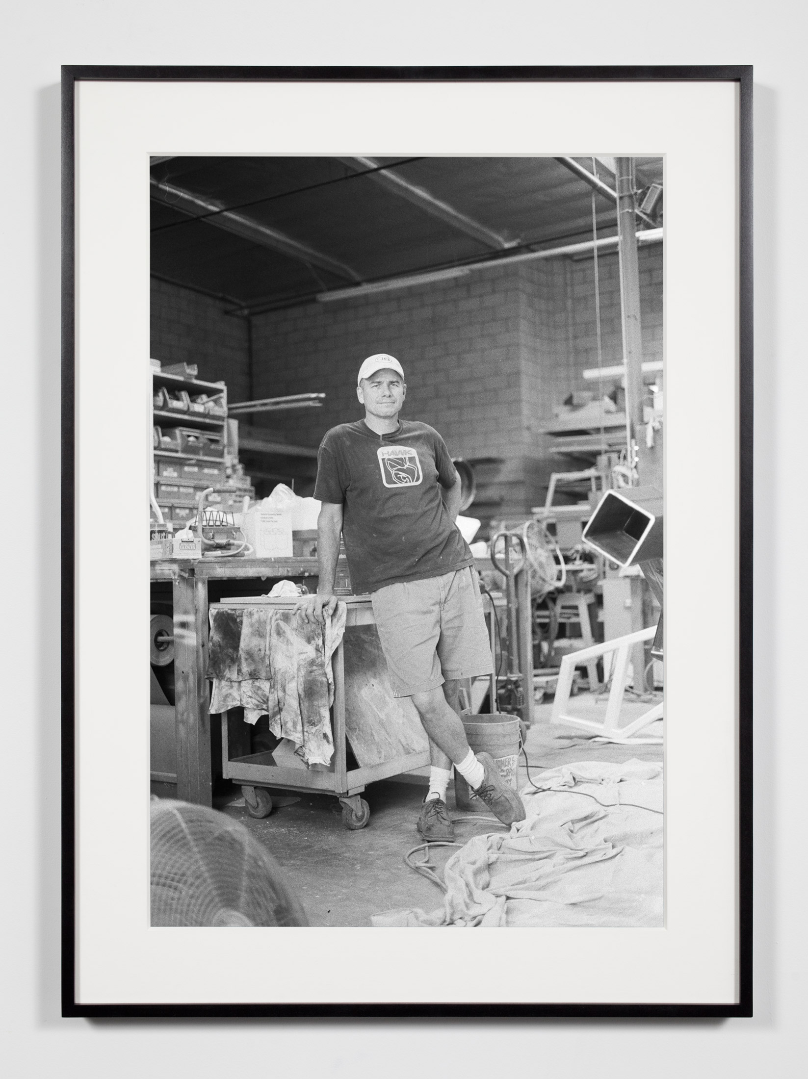 Fabricator, Glendale, California, July 9, 2008    2011   Epson Ultrachrome K3 archival ink jet print on Hahnemühle Photo Rag paper  36 3/8 x 26 3/8 inches   Industrial Portraits, 2008–
