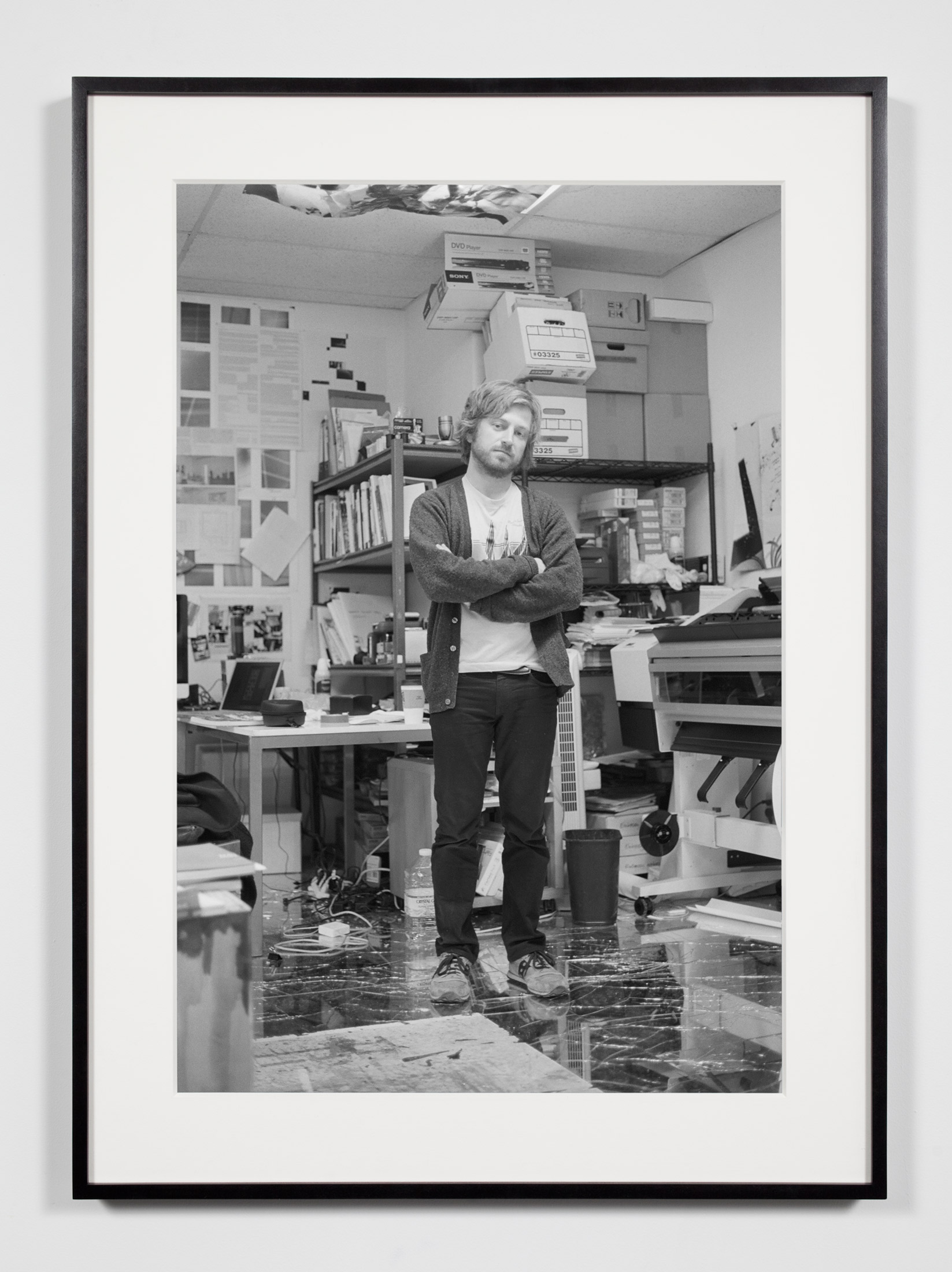 Studio Production Manager, Los Angeles, California, December 9, 2010    2011   Epson Ultrachrome K3 archival ink jet print on Hahnemühle Photo Rag paper  36 3/8 x 26 3/8 inches   Industrial Portraits, 2008–