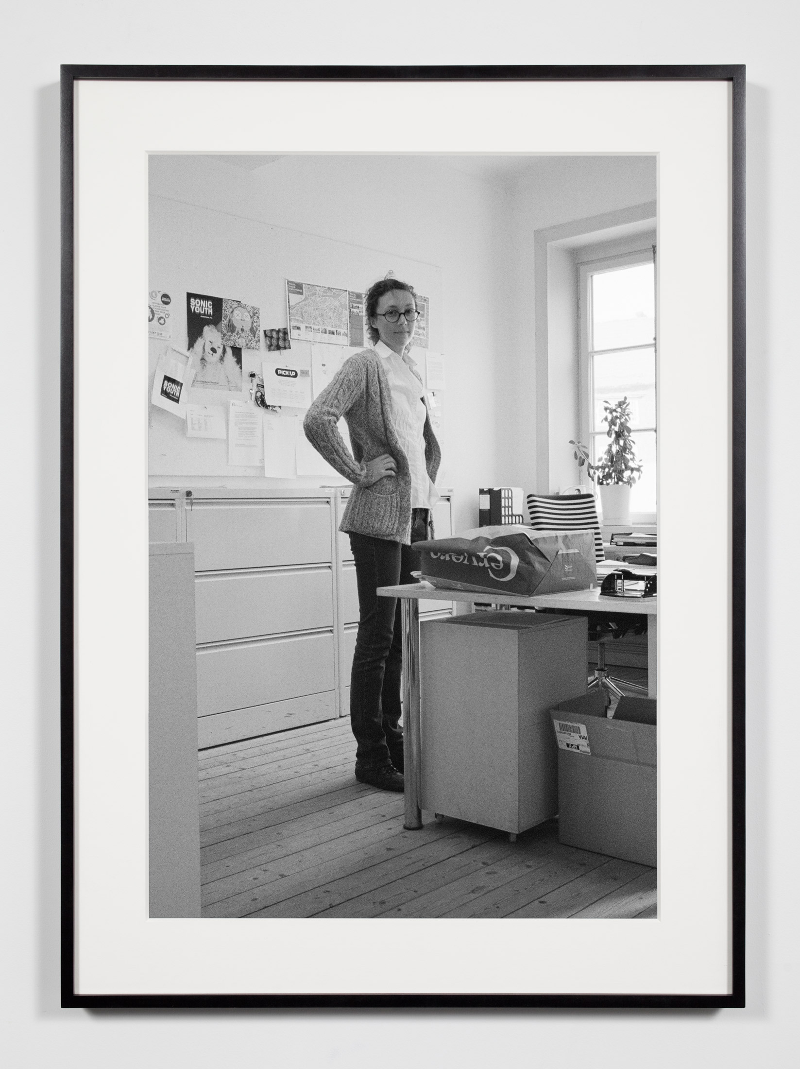 Kunsthalle Assistant, Malmö, Sweden, October 16, 2010    2011   Epson Ultrachrome K3 archival ink jet print on Hahnemühle Photo Rag paper  36 3/8 x 26 3/8 inches   Industrial Portraits, 2008–