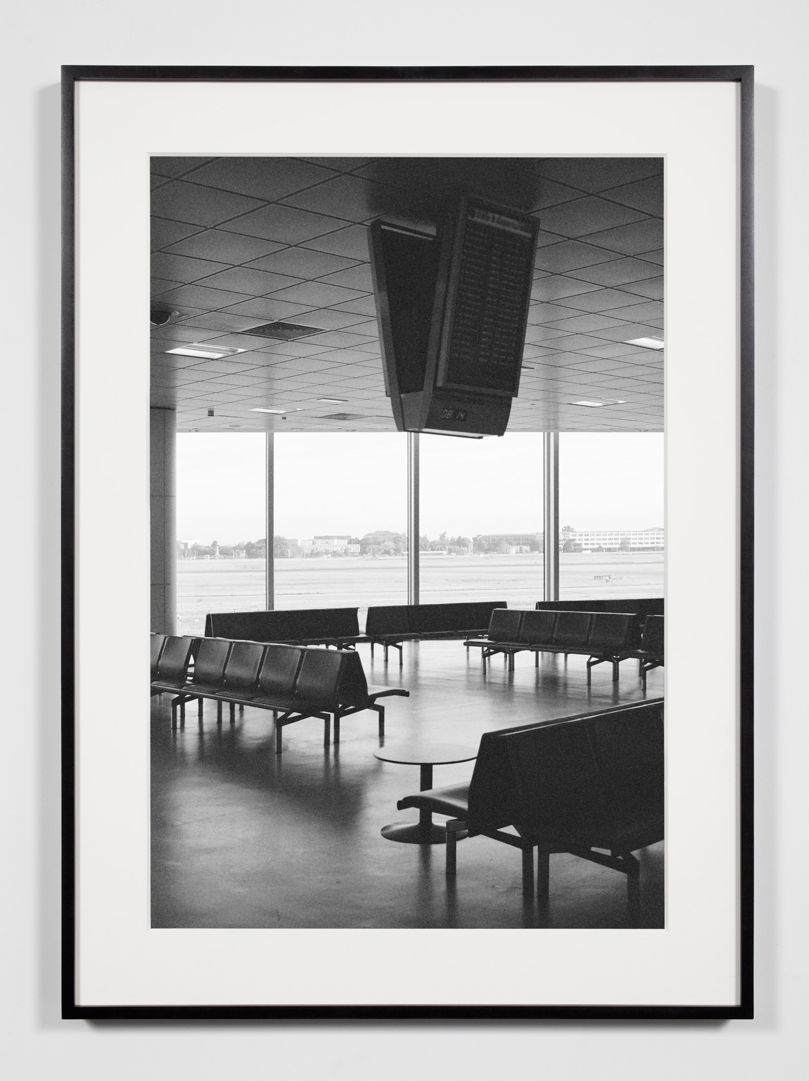 Airport Lounge, Belfast, Ireland, September 10, 2010    2011   Epson Ultrachrome K3 archival ink jet print on Hahnemühle Photo Rag paper  36 3/8 x 26 3/8 inches   Industrial Portraits, 2008–