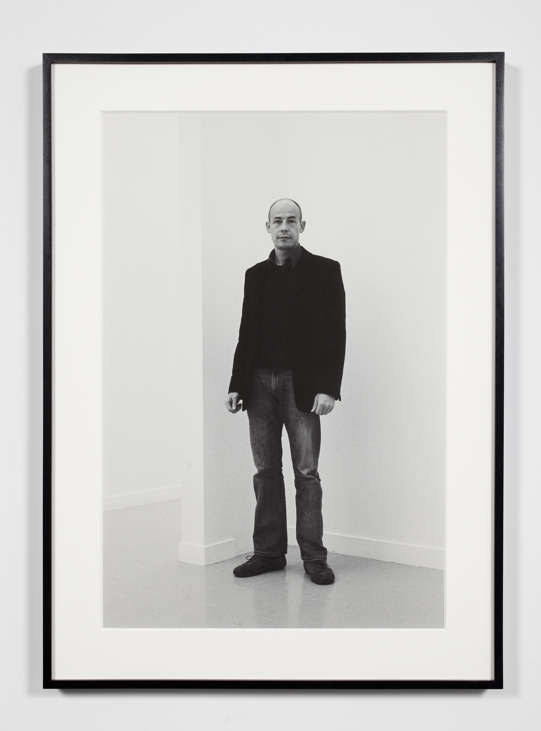 Gallery Director, Brussels, Belgium, November 6, 2008    2011   Epson Ultrachrome K3 archival ink jet print on Hahnemühle Photo Rag paper  36 3/8 x 26 3/8 inches   Industrial Portraits, 2008–