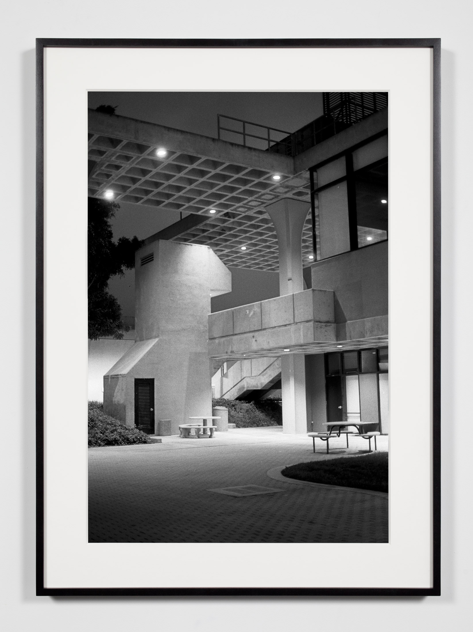 Claire Trevor School of the Arts (University of California Irvine), Irvine, California, July 17, 2008    2009   Epson Ultrachrome K3 archival ink jet print on Hahnemühle Photo Rag paper  36 3/8 x 26 3/8 inches   Industrial Portraits, 2008–