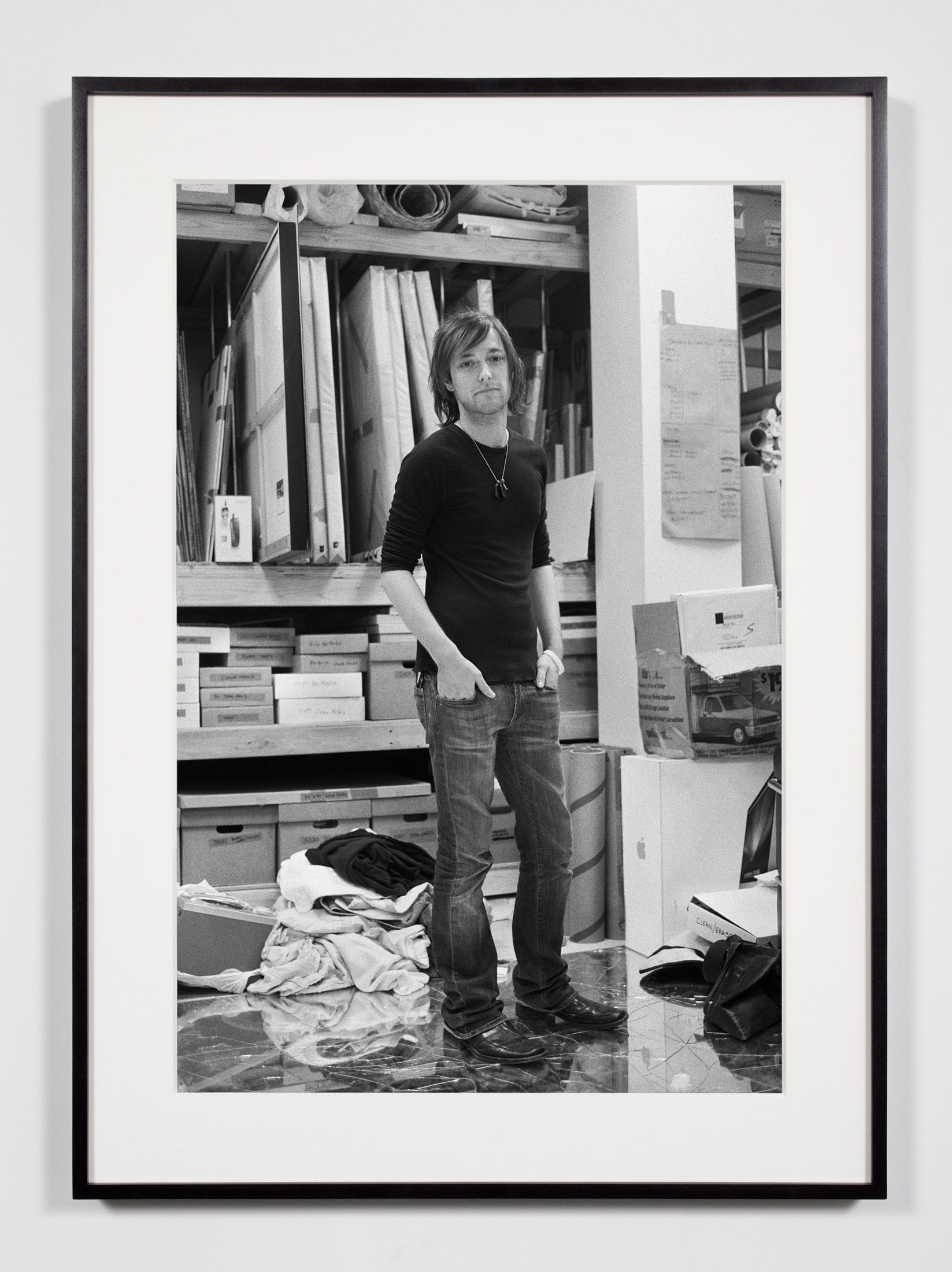Studio Manager (JRM), Los Angeles, California, July 26, 2008    2009   Epson Ultrachrome K3 archival ink jet print on Hahnemühle Photo Rag paper  36 3/8 x 26 3/8 inches   Industrial Portraits, 2008–