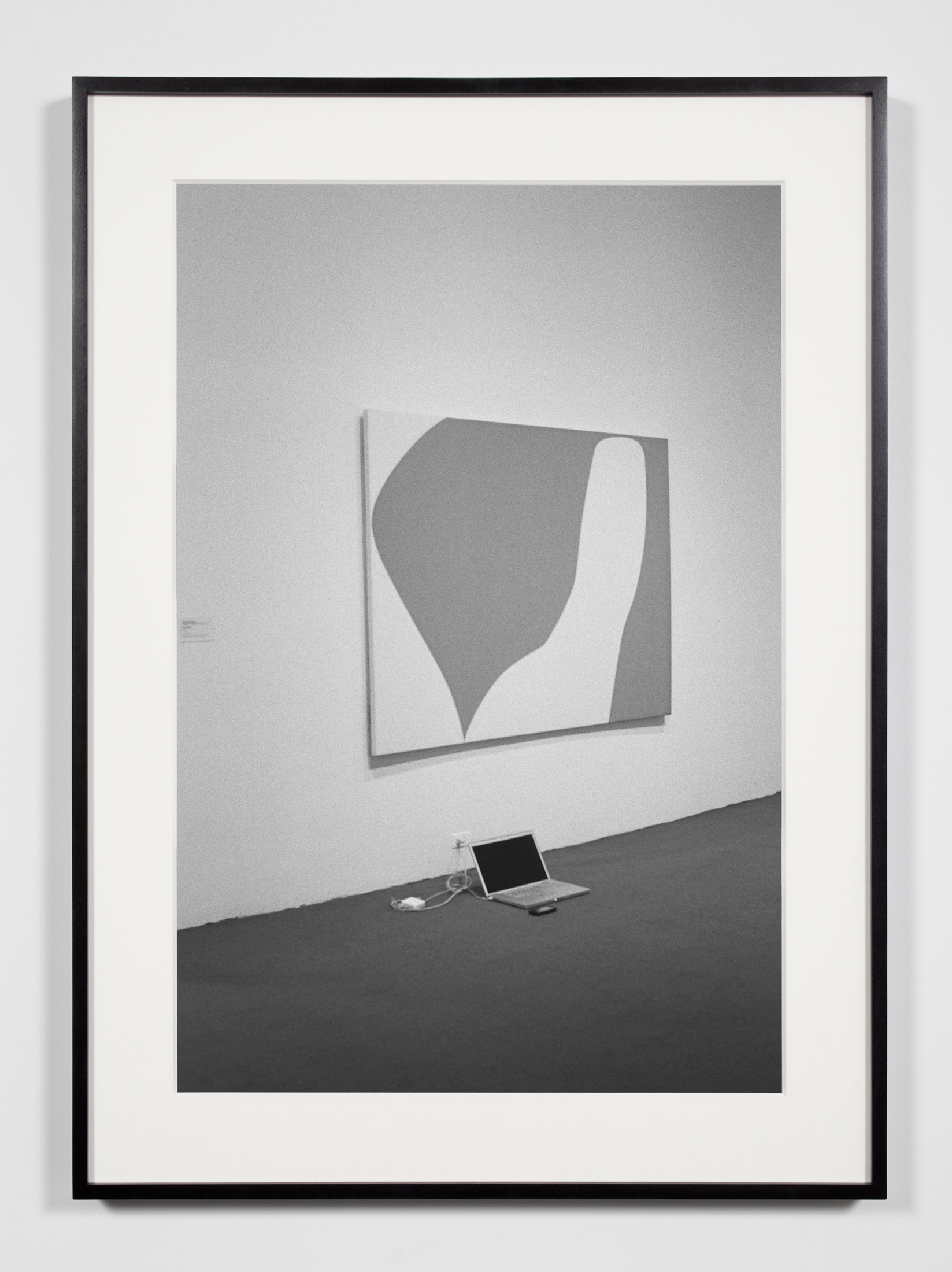 Installation View (MacBook Pro, iPhone and Ellsworth Kelly, 'Red White', 1961), Washington,District of Columbia, April 27,2009    2009   Epson Ultrachrome K3 archival ink jet print on Hahnemühle Photo Rag paper  36 3/8 x 26 3/8 inches   Industrial Portraits, 2008–
