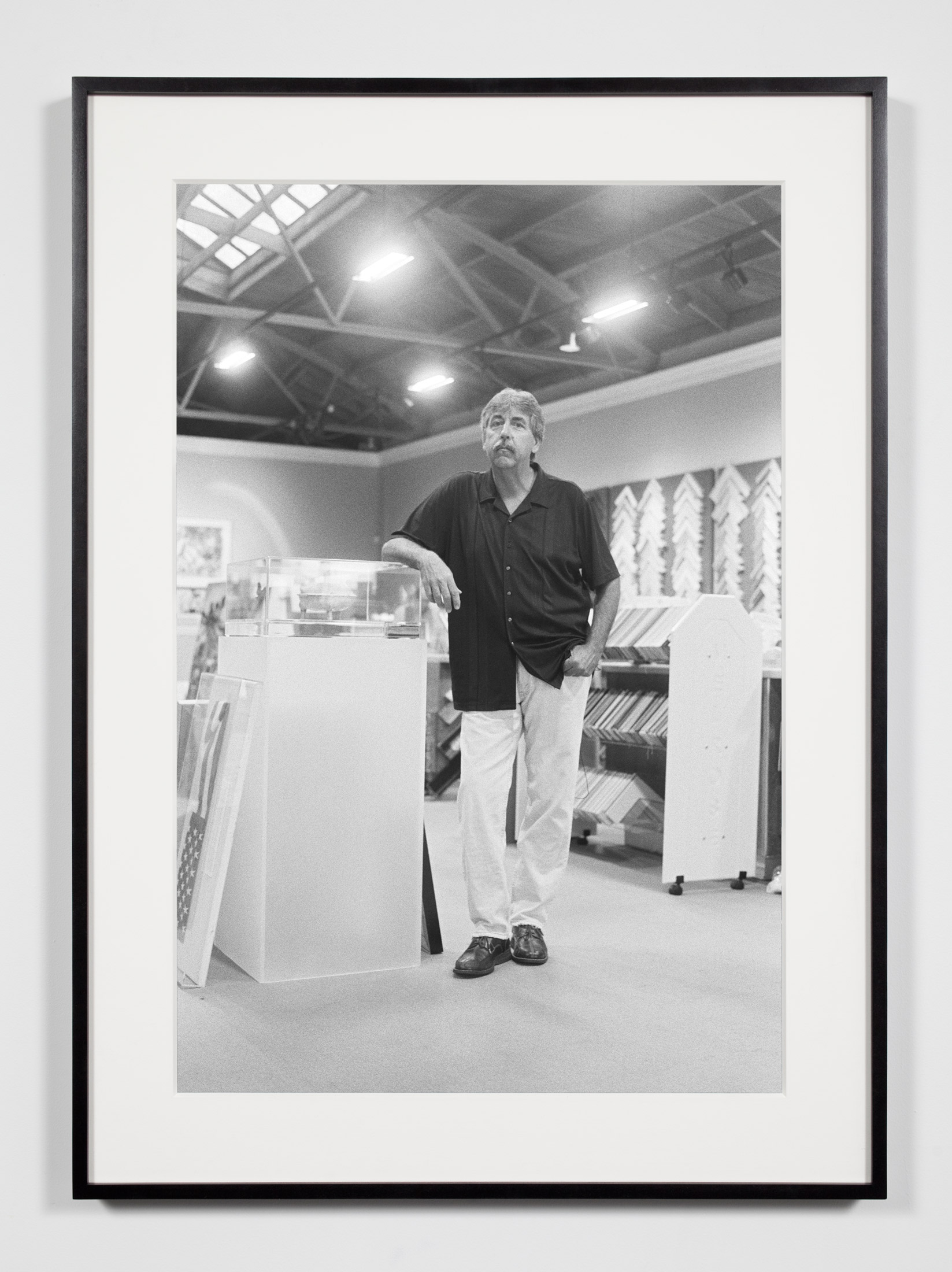 Master Framer (RR), Los Angeles, California, June 20, 2009    2009   Epson Ultrachrome K3 archival ink jet print on Hahnemühle Photo Rag paper  36 3/8 x 26 3/8 inches   Industrial Portraits, 2008–
