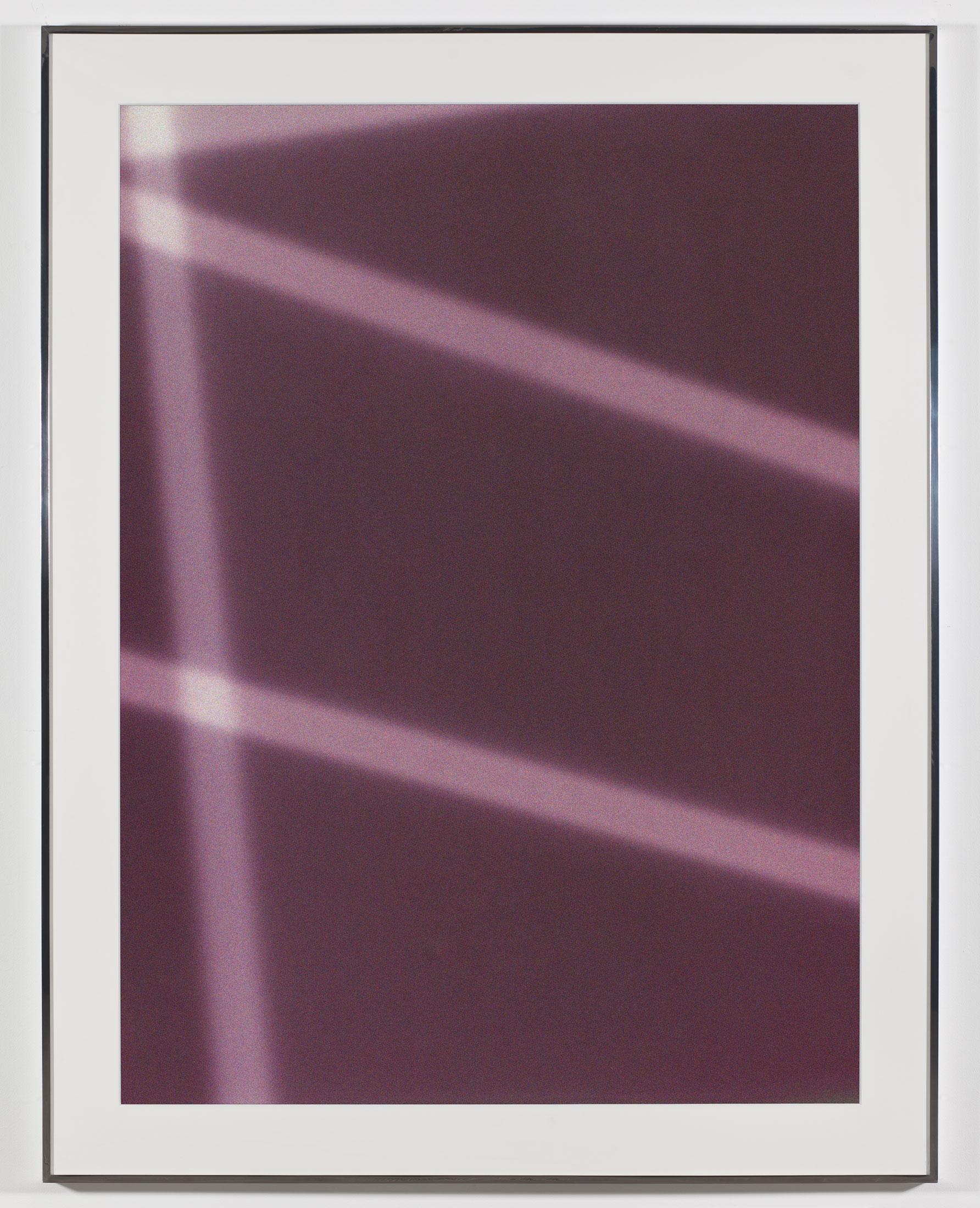 Transparency (Negative) [Kodak Portra 400NC Em. No. 2001: May 8–July 18, 2007 LAX/FRA FRA/JFK LGA/IAD IAD/ORD]    2009   Epson Ultrachrome K3 archival ink jet print on Museo Silver Rag Paper  68 x 52 1/4 inches   Transparencies, 2008–2014