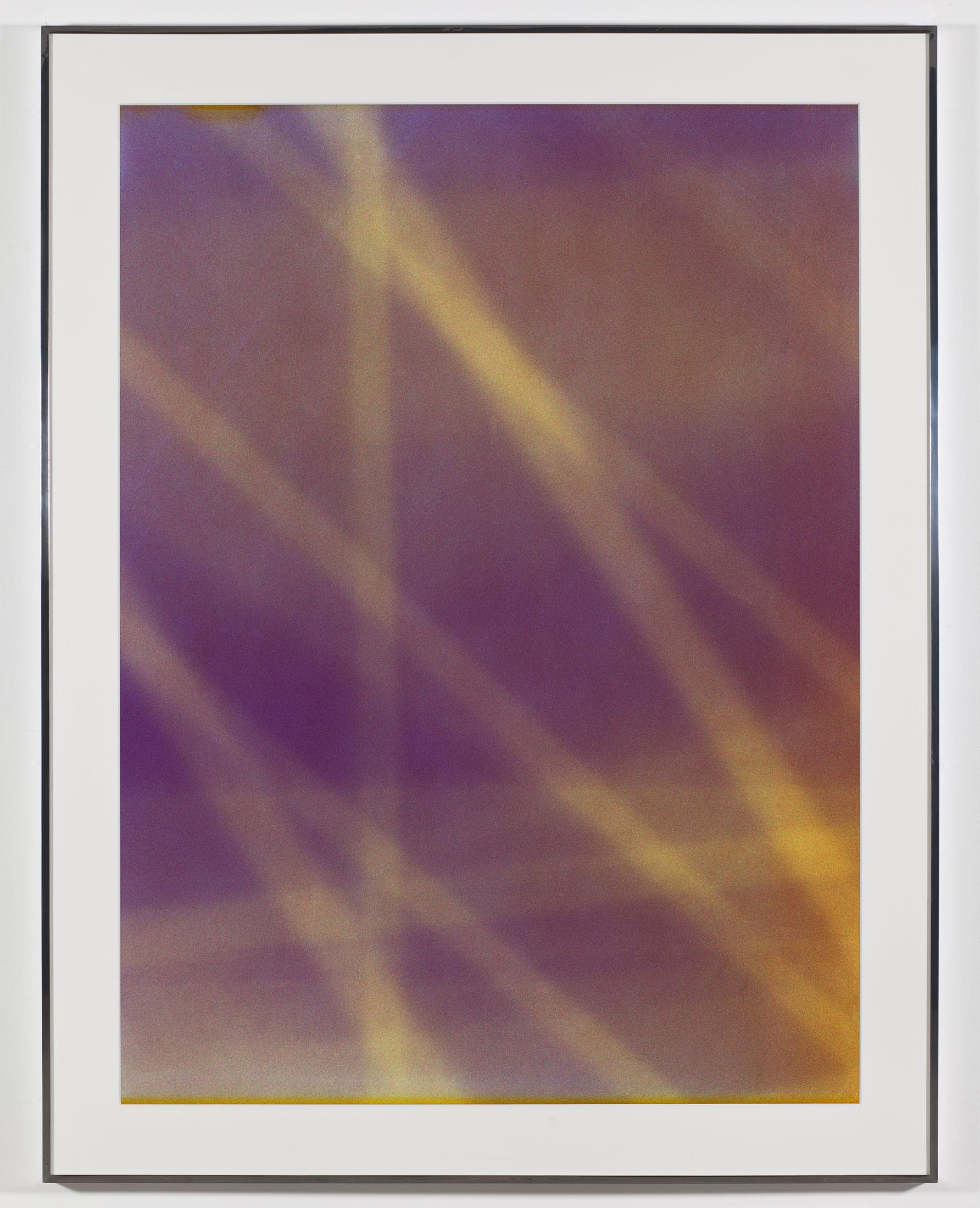 Transparency (Negative) [Kodak Portra 400NC Em. No. 51341: May 8–May 18, 2008 ORD/LHR LHR/IAD IAD/JFK LGA/DCA DCA/ORD]    2009   Epson Ultrachrome K3 archival ink jet print on Museo Silver Rag Paper  68 x 52 1/4 inches   Altermodern, 2009